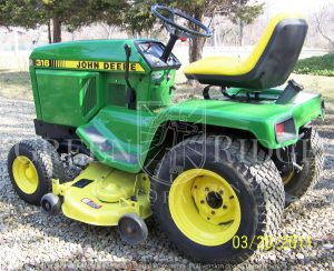 "The ""Little Brother"" to the 318 – the John Deere 316"