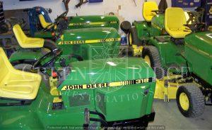 Classic John Deere Lawn & Garden Tractors Summary