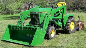 John Deere 332 tractor