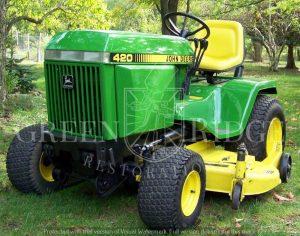 John Deere 420 Lawn Garden Tractor