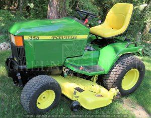 John Deere 445 tractor