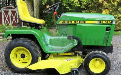 When you own a John Deere, you mow because you want to. Not because you have to.