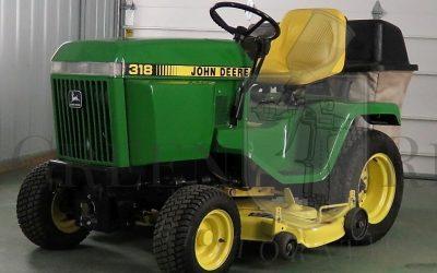 John Deere 316 and 318 Parts Maintenance Ref Sheet