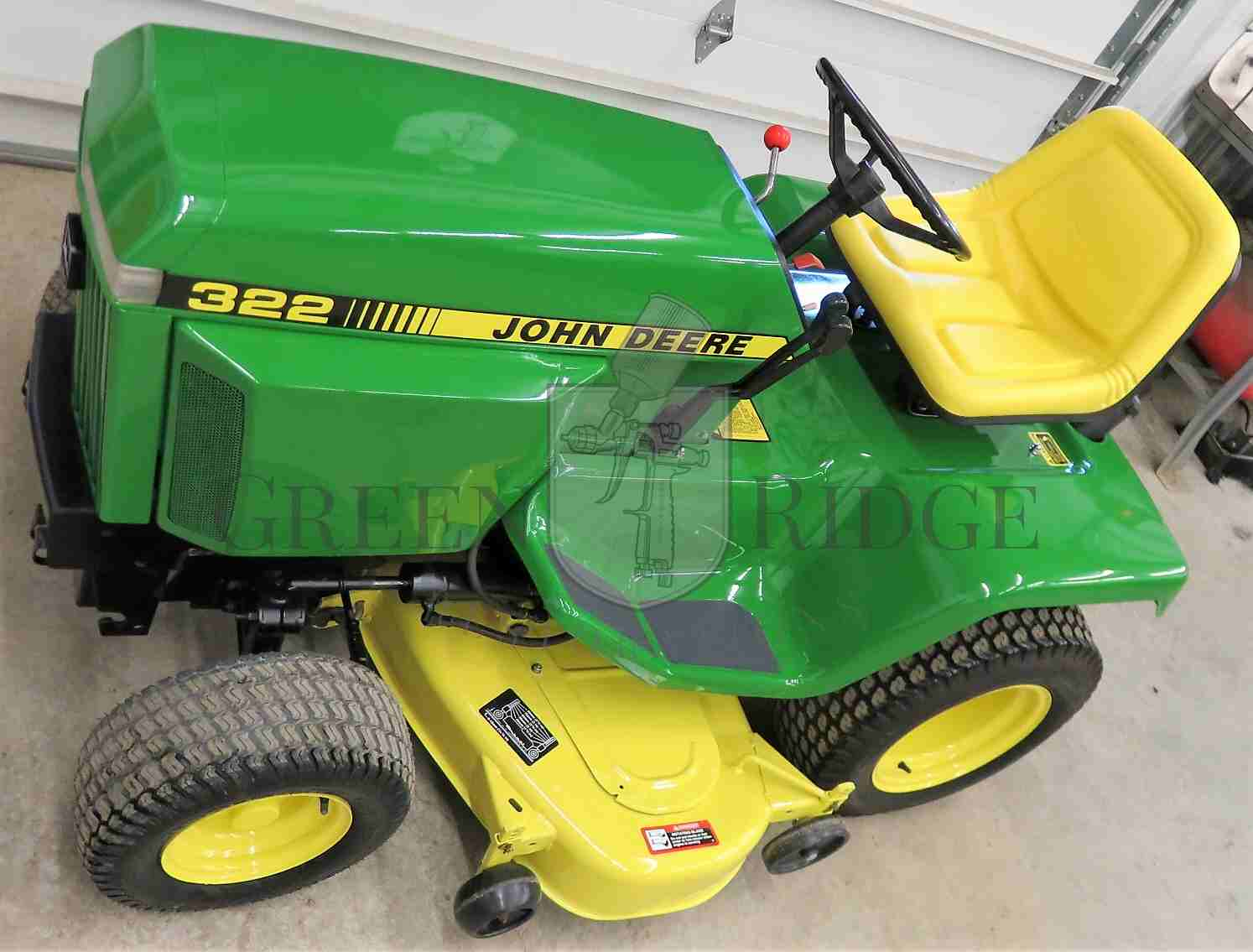 John Deere 322 for sale