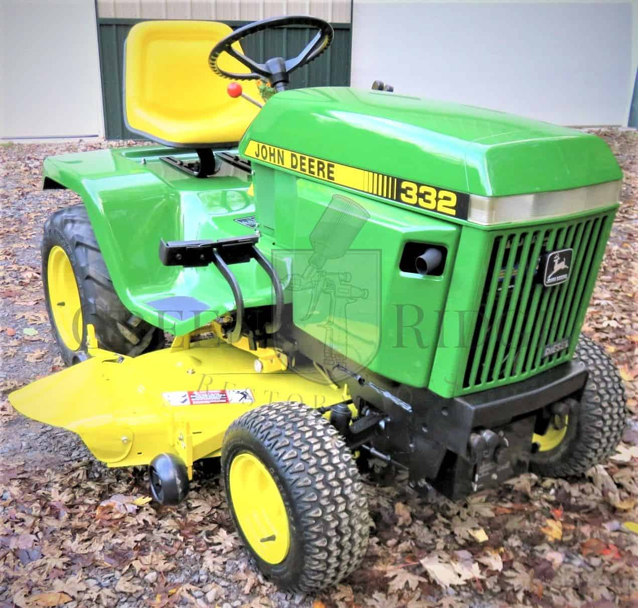 John Deere 332 Garden Tractor Manual Best Deer Photos Water