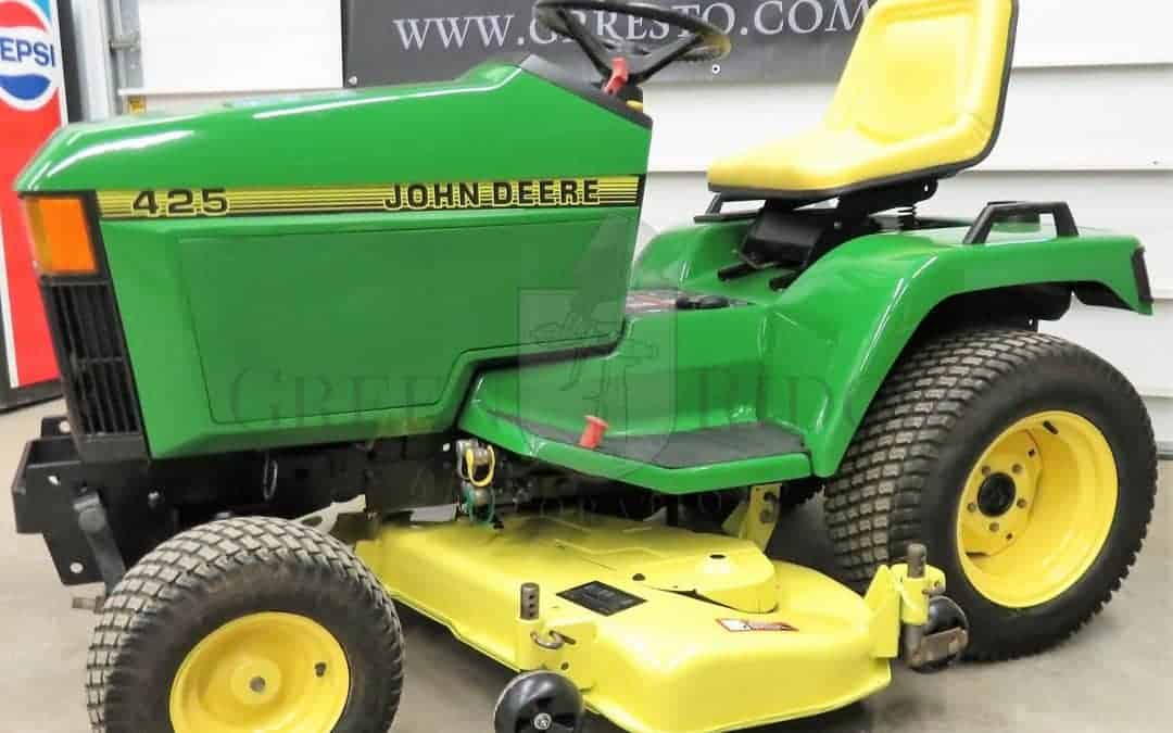 The Later Generation of John Deere Lawn Tractors: The 425, 445, 455