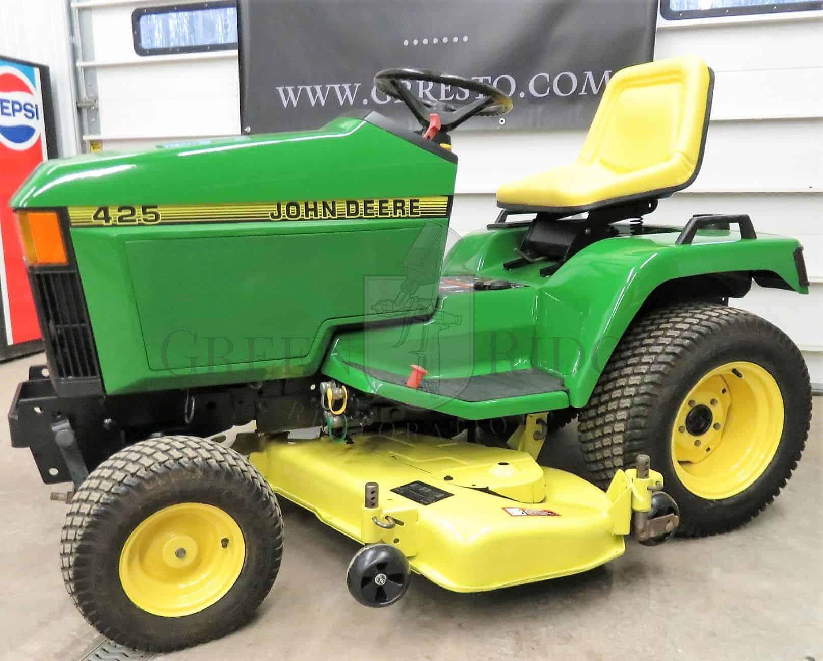 John Deere 445 >> John Deere 425 445 455 Lawn Tractors The Next Generation