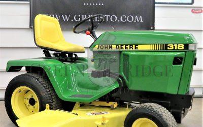 Restored John Deere Lawn & Garden Tractors for Sale