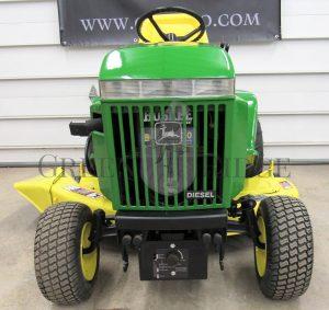 All the Details on The Elusive Diesel John Deere 330 Lawn