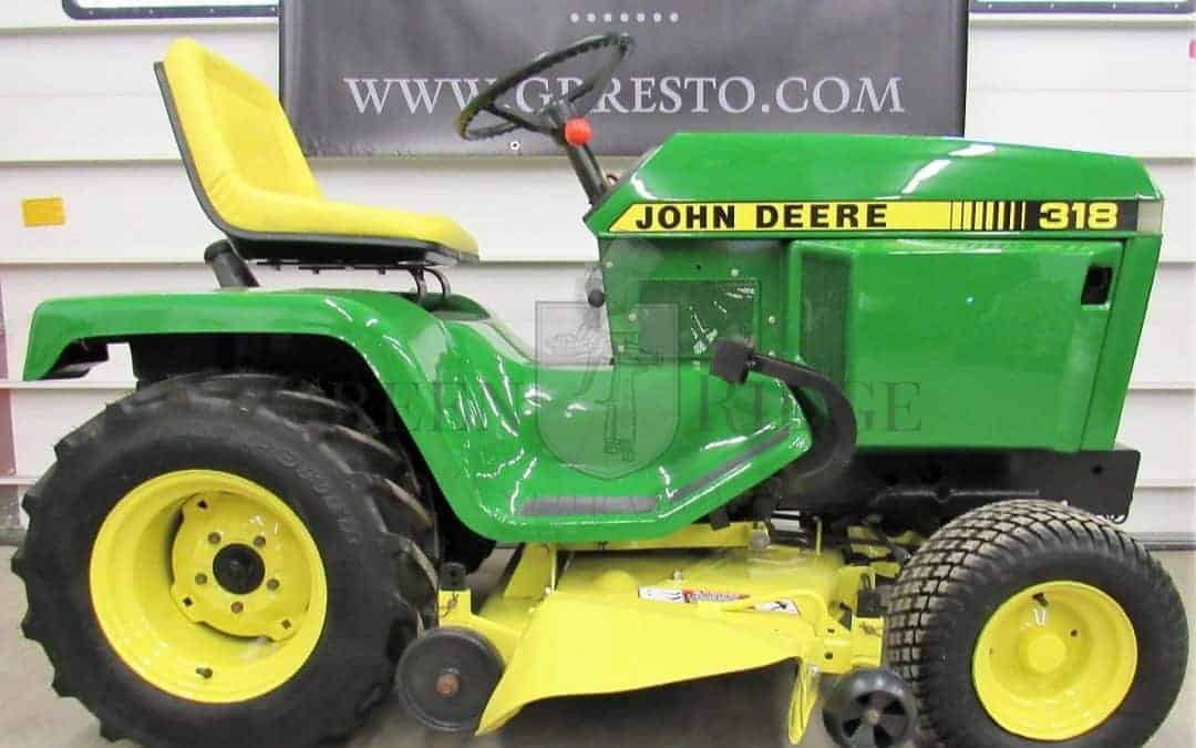 John Deere 318 – Your Top 5 Troubleshooting Questions Are Answered