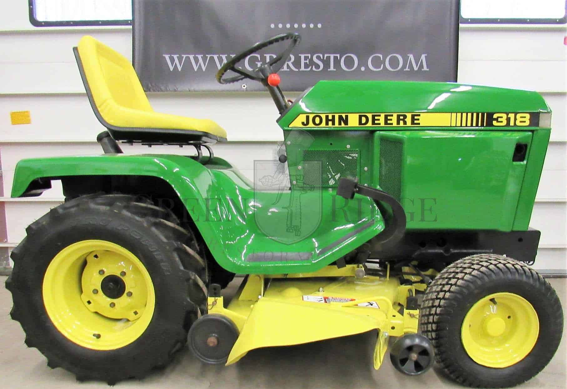 John Deere 318 >> John Deere 318 Answers To Your Common Troubleshooting Questions