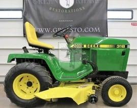 The Legendary John Deere 318, America's Favorite Lawn Tractor