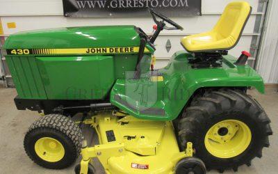 John Deere Lawn Tractors: Should You Choose Gas or Diesel?