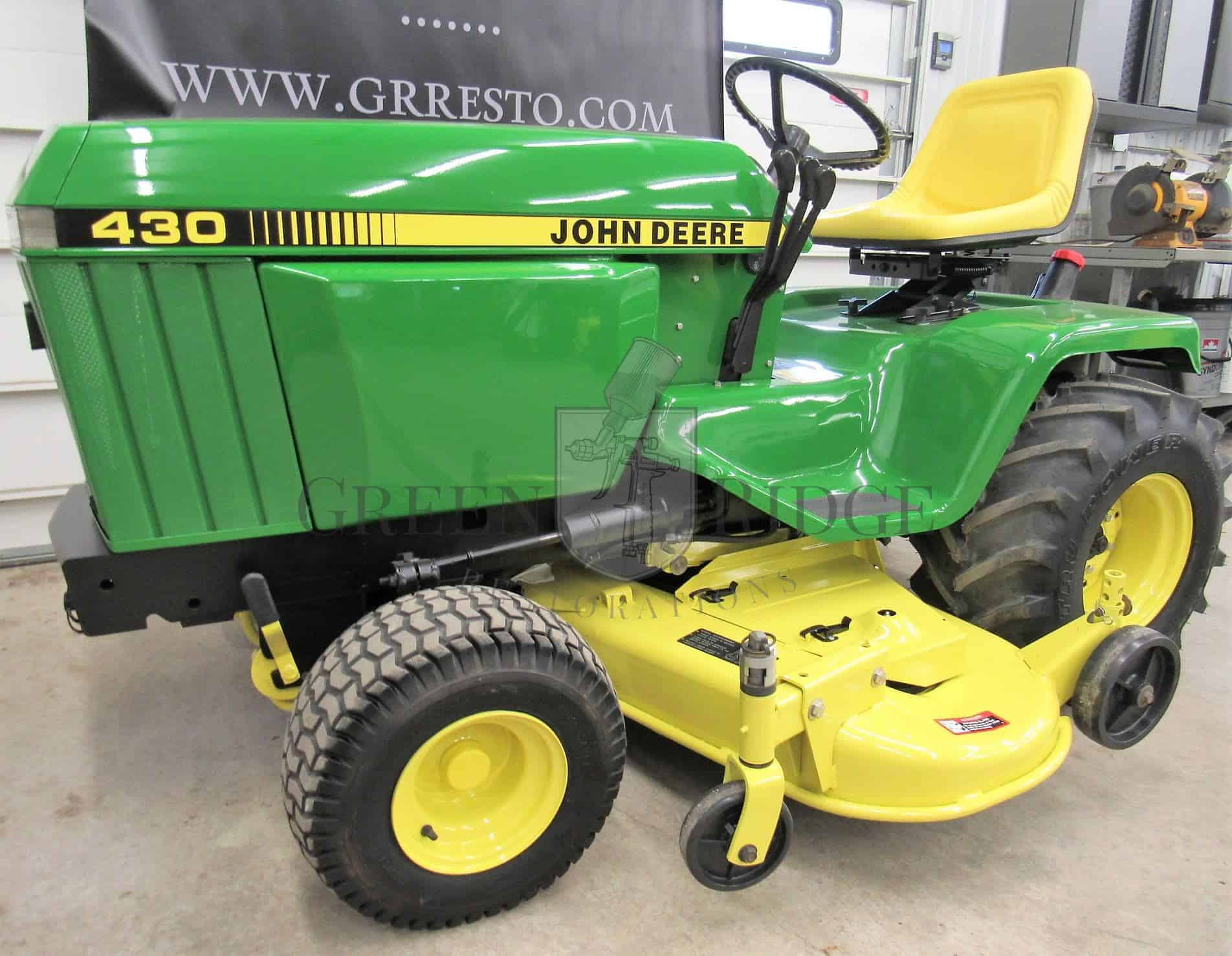 John Deere 430 For Sale 1986 Lawn And Garden Tractor In