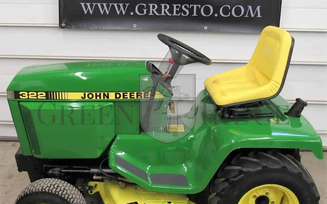 john deere 318 Archives - Green Ridge Restorations, LLC