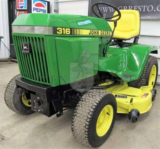 John Deere 316 for Sale