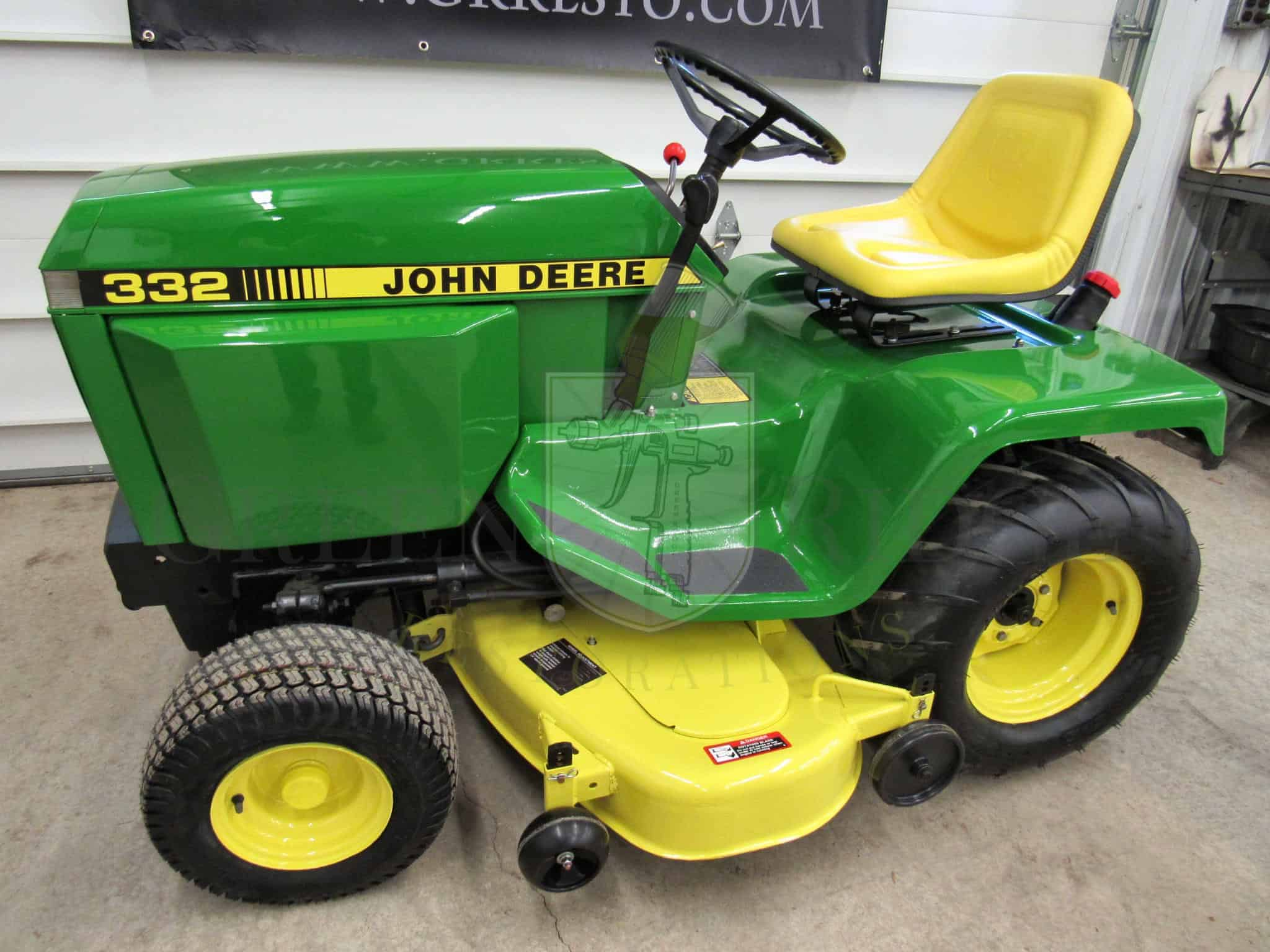 John Deere 332 >> John Deere 332 For Sale 1987 Lawn And Garden Tractor In New York