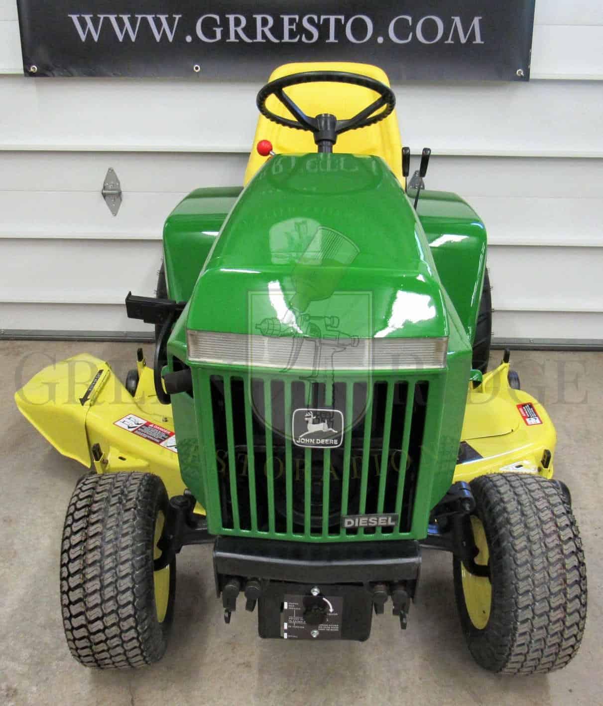 john deere 318 garden tractor Archives - Green Ridge