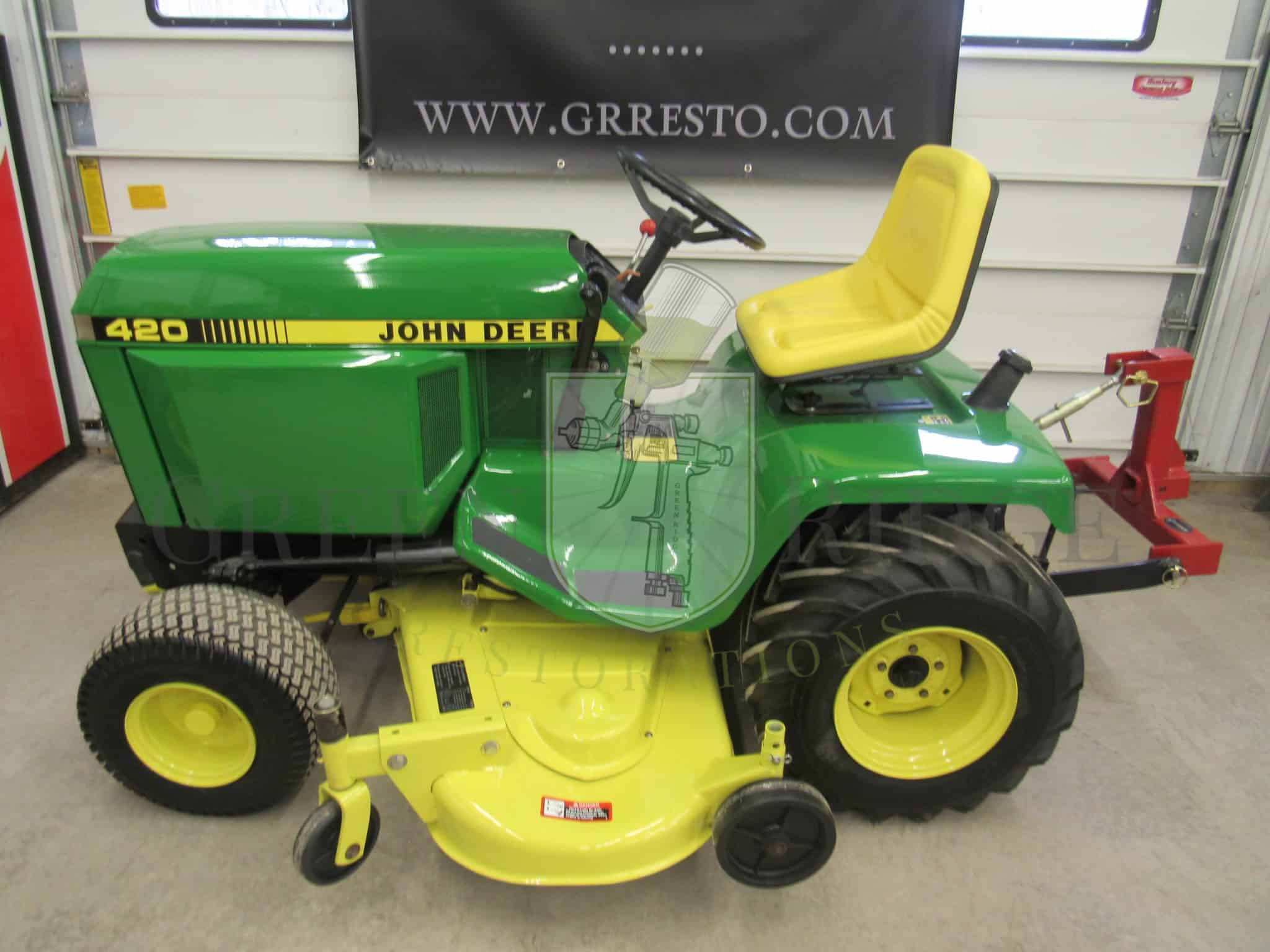All the Details on The Elusive Diesel John Deere 330 Lawn Tractor