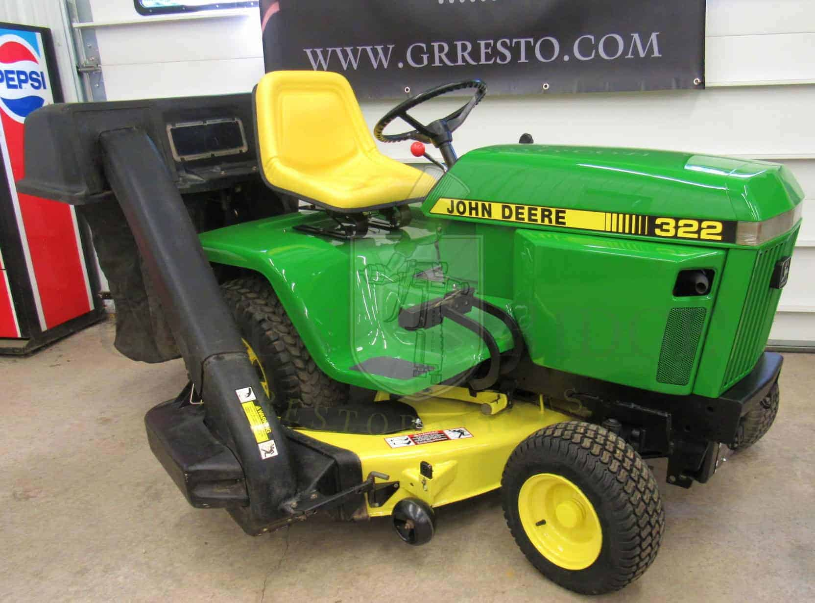John Deere 322 For Sale 1990 Lawn And Garden Tractor In New York